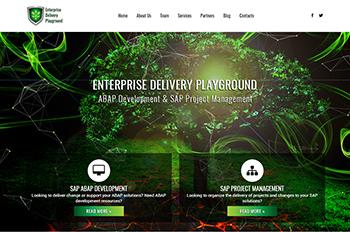 Изработка на уеб сайт за Enterprise Delivery Playground Ltd.