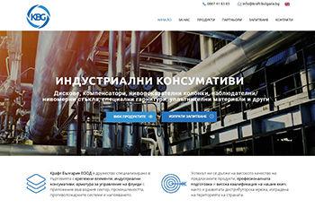 Изработка на уеб сайт за Kraft Bulgaria